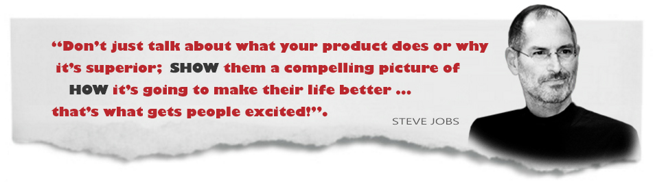 product launches quote steve jobs